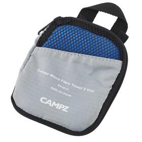 Campz Micro Fibre handdoek S blauw